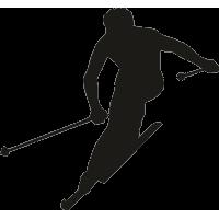 Человек на лыжах