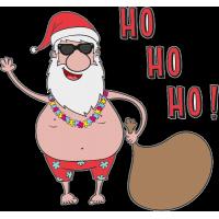 Гавайский Санта Клаус