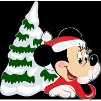 Микки Маус и новогодняя ёлка