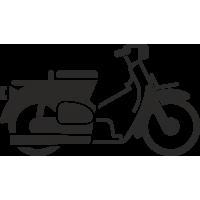 Ретро скутер