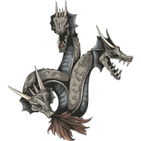 Трехголовая змея