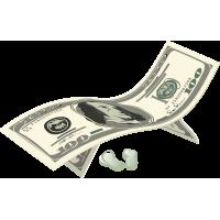 Раскладушка из доллара