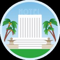 Отель на пляже