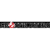 Надпись Ghostbusters