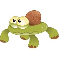 Черепаха-улитка