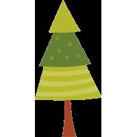 Геометрическая елка