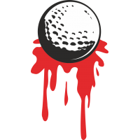 Теннисный шарик с кровью