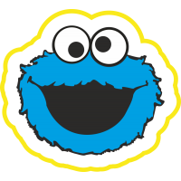 Cookie Monster - Печеньковое чудовище