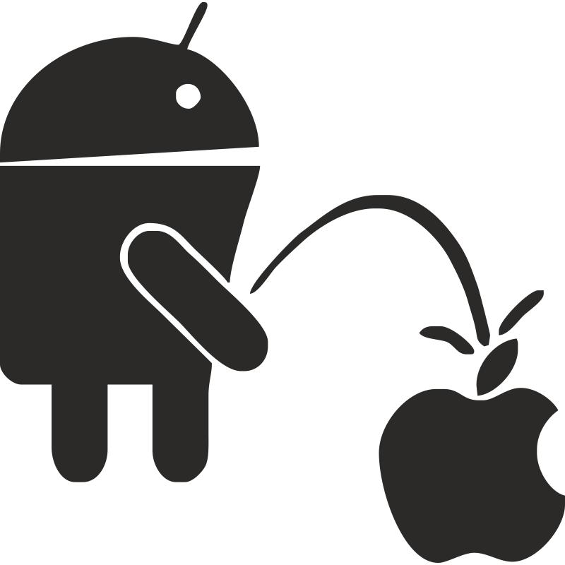 Apple ссыт на андроид