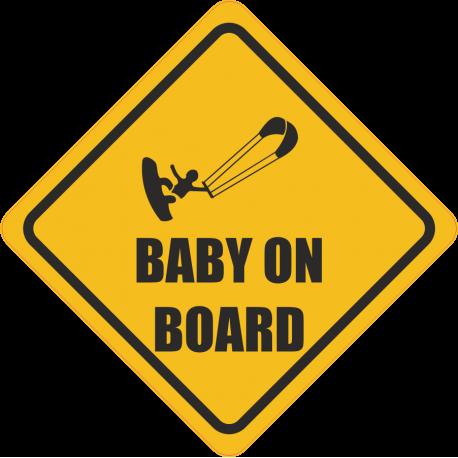 Baby kiter on board - Ребеной кайтер на борту
