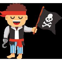 Мультяшный пират