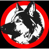 """Знак """"Осторожно! Злая собака!"""""""