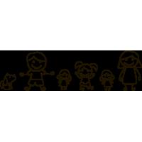 Семья (Папа, Мама, Старшая Дочка, Две Младшие Дочки, Собака)