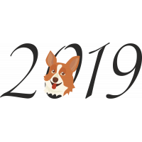 Новый Год 2019 Корги