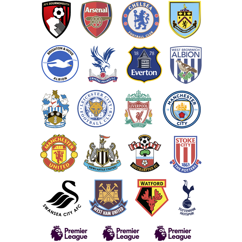Известные футбольные клубы англии эмблемы