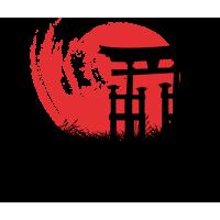 Япония - надпись в японском стиле