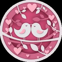 Птички На День Святого Валентина