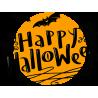 """Надпись """"Хэллоуин"""" и летучие мыши"""